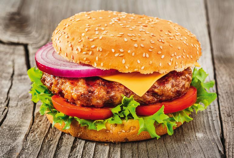 Bild eines Burgers