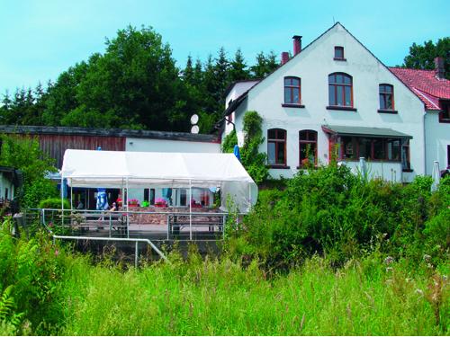 Foto der Walkenmühle von außen