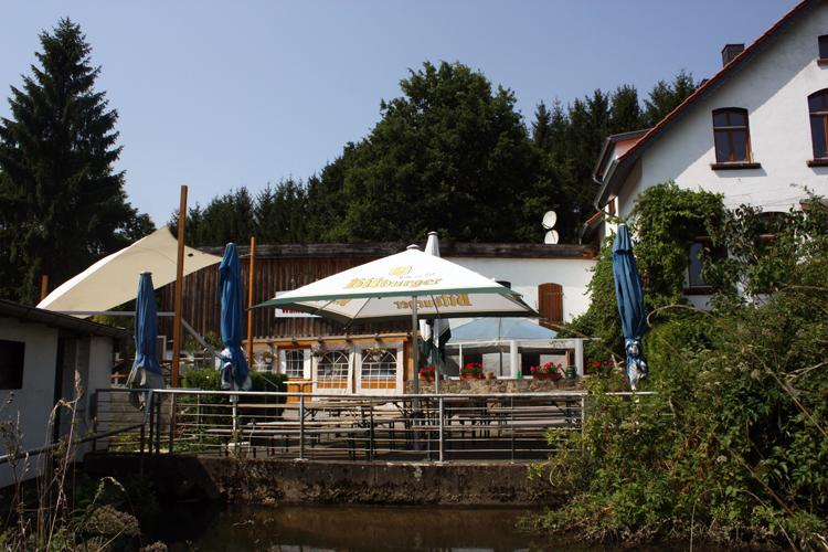 Ansicht der Walkenmühle von außen