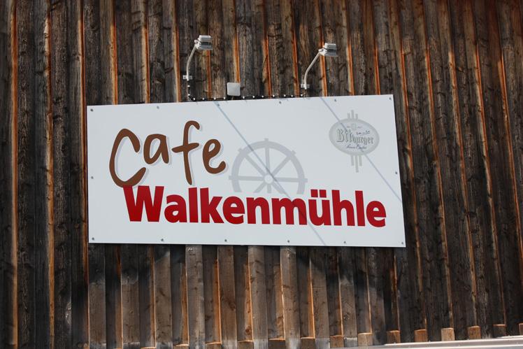 Foto vom Walkenmühle Schild