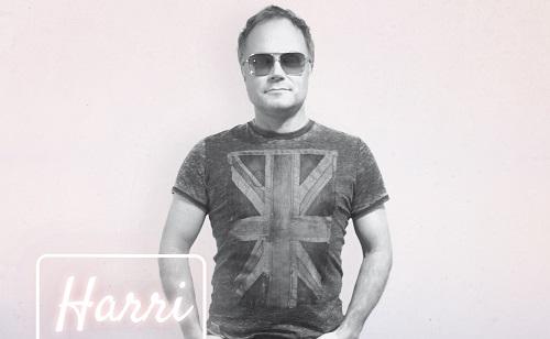 Künstlerfoto von Harri Schümann mit Sonnenbrille